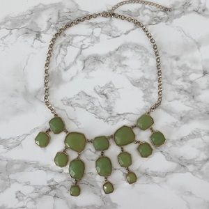 FRANCESCA's Green Jade Drop Necklace
